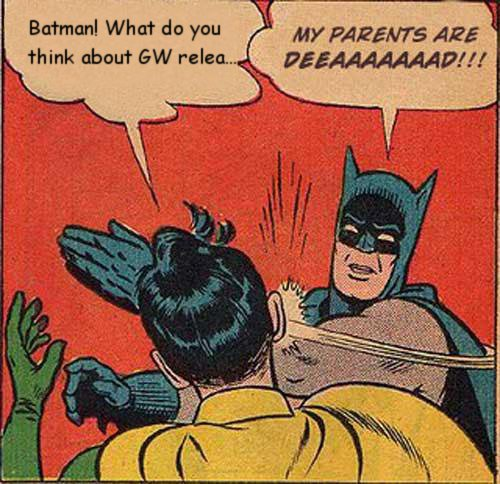 His parents are dead too Batman... he's an orphan remember?